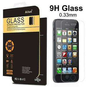 AILUN Tempered Glass Screen Protector, 2.5D Ultra Clear, 0.3mm 9H Hardness