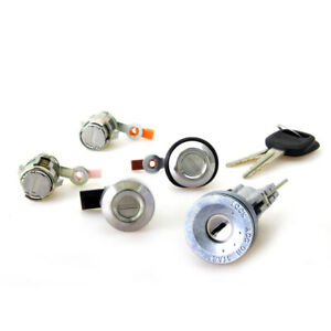 TOYOTA COROLLA E90 AE93 95 96 EE97 FITS IGNITION SWITCH DOOR TRUNK FUEL LOCK SET