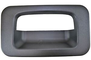 fits Hummer H2 Outside Outer Exterior Liftgate Tailgate Handle Bezel Only