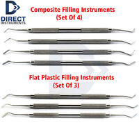 7Pcs Restorative Composite Surgical Dental Filling Instruments Plugger Spatula