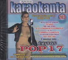 Yahir Yuridia Chetes Franco De Vita Exitos Pop 17 Karaokanta Karaoke New Sealed