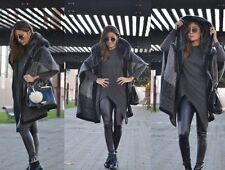 Zip Hip Length Poncho Coats & Jackets for Women