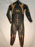 TYR  Hurricane Freak Of Nature Triathlon Wetsuit  Men's Med. Retail $1,199.99