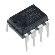 10PCS JRC 4558D JRC4558D OPAMP OP AMPS CHIP IC DIP 8 Low Power TS808 TS9