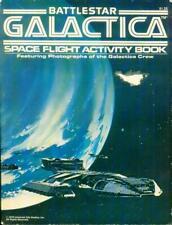 Coloring Book Battlestar Galactica Space Flight Activity Coloring Book 1978