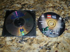 Lego Studios (PC, 2000) & Math Blaster In Search of Spot (PC, 1993) Games