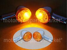 Rear Turn Signal LED Blinker Light &Bracket F Harley Sportster XL 883 1200 92-16