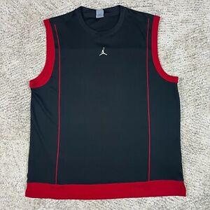 Nike Air Jordan Jersey Mens XL Sleeveless Tank Basketball Polyester Jumpman GUC