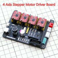 4 Axis CNC Stepper Motor Driver Board Controller Tool For Laser Engraver Machine