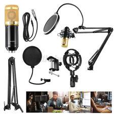 BM-800 Pro Kondensator microphone Mikrofon Kit Komplett Set für Studio Aufnahme!