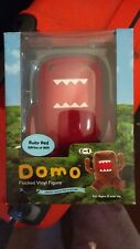 Domo Kun 5 Inch Ruby Red Flocked Vinyl Action Figure Limited Edition / 500