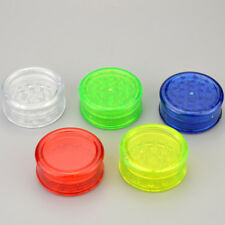 3 Layers 2.36'' inch tobacco herbal herb plastic grinder cigarette smoke tool