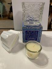 Vintage Avon Nos Winter Lights Moonwind Fragrance Candlette N1