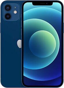 Apple iPhone 12 6.1'' 5G Smartphone 64GB Unlocked Dual-Sim - (Blue) B+