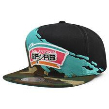 San Antonio Spurs CAMO PAINTBRUSH Snapback Mitchell & Ness NBA Hat