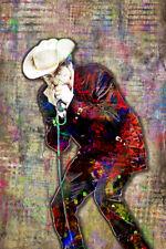 Bob Dylan Poster, Bob Dylan 12x18inch Art Print Bob Dylan Art Free Shipping