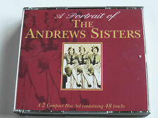 The Andrews Sisters - A Portrait Of (2 x CD Album) Used good