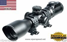 Leapers ACCUSHOT 3-12X44 30mm Comp Scope AO 36 Color Glass Mil Dot - UTG