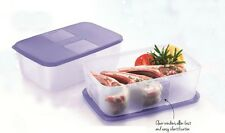 Tupperware Fridge & Freezer FreezerMate Medium II 1.5L (Set of 2 - Purple Lids)