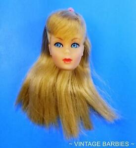 RARE Blond Standard Barbie Doll #1190 Head Only Excellent -  Vintage 1960's