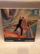 007 James Bond - A View To A Kill (movie) Laser Video Disc (LD)