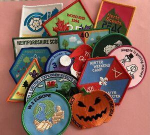 15 Scouting Fun Badges