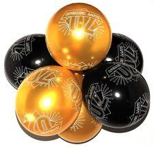 70th globos de Cumpleaños Con Estampado Números Fiesta Látex CALIDAD - Pack 10