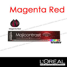 L'Oreal Majicontrast MAGENTA RED Permanent Colour Hair Dye 50ml