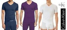 Calvin Klein Men's T-Shirt stretch Micro Modal V- Neck Ck Liquid Cotton U5563