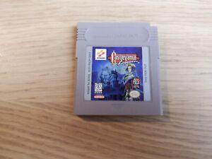 Castlevania Legends (Nintendo GameBoy Original) [Authentic Game Cartridge]