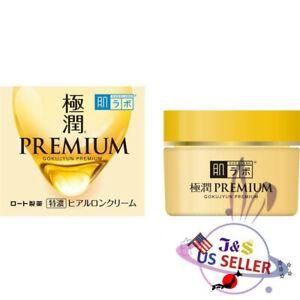 New Rohto Hadalabo Gokujyun Premium Super Hyaluronic Cream 50g - US Seller