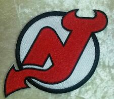 """New Jersey Devils 4.5"""" Iron On Embroidered Patch ~USA Seller~"""
