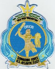 USS Orion AS 18 - Crest - BcPatch Cat. No. B979