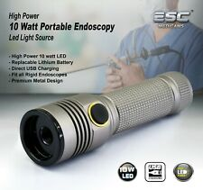 Portable Cold LED Light Source ENT Endoscopy Medical 10W Rigid Endoscope Camera