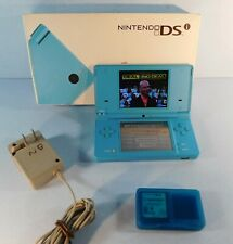Nintendo DSi Matte BLUE Handheld System Console with Lot of 4 Games ds