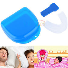 Against Bruxism Mouthpiece Snoring Night Sleep  Mouth guard Grind Aid Station