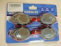 True Attentive Adult Silicone Swim Goggles