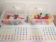 Lot of 2 Partial Gigo Linkable Abacus Sets Educational Homeschool Preschool VGUC