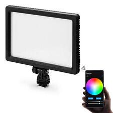 ANGEBOT! METTLE RGB Video-Leuchte VPAD-112C App Control Kamera-Licht Koplicht