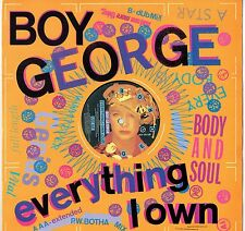 "BOY GEORGE - 12"" - Everything I Own (Extended P.W. Botha Mix) Virgin"