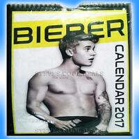 Justin Bieber UK Calendar 2017 100% unofficial OUT OF PRINT COLLECTORS FAN ITEM