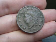 1833 Matron Head Large Cent Penny- Fine Details