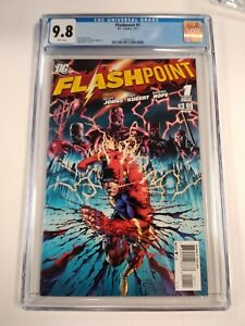 Flashpoint #1 CGC 9.8 White Pages Flash DC Comics 2011