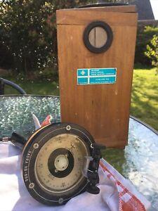 Vintage Saura Tokyo Marine Boat Gold Special HB-65G Hand Bearing Compass Japan