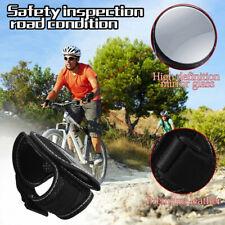 Bike Rearview Mirror Bicycle Back Mirror Cycling Arm Wrist Strap Rear View