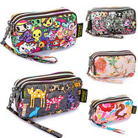 Women Handbag Pencil Cosmetic Case Printing Clutch Bag Coin Phone Purse Wallets