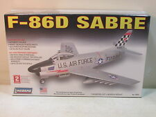 1/48 SKILL 2 LINDBERG F-86D SABRE # 70503 U.S. AIR FORCE JET MODEL