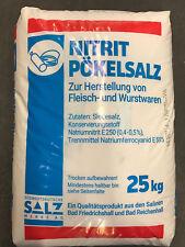 Pökelsalz 0,4-0,5% Nitrit 25kg Sack