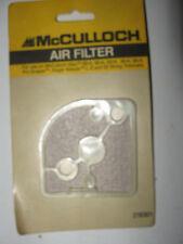 McCulloch Trimmer Air Filter New Mac 60-A 80-A 85-A 90-A 95-A Pro-Scaper