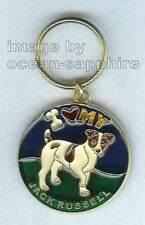 Jack Russell Parson Terrier Dog Key Ring Keychain Key Chain New Great gift